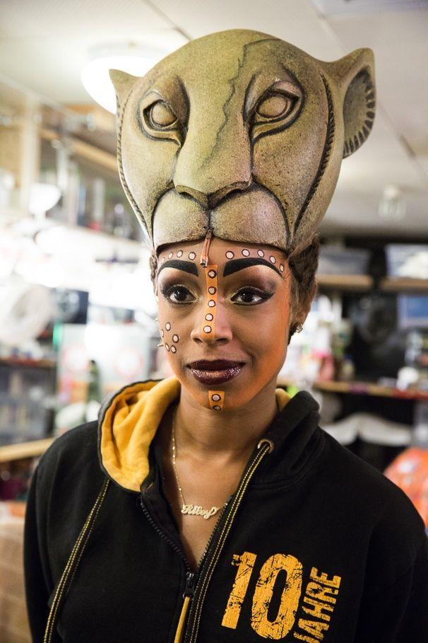 image result for lioness makeup lion king broadway