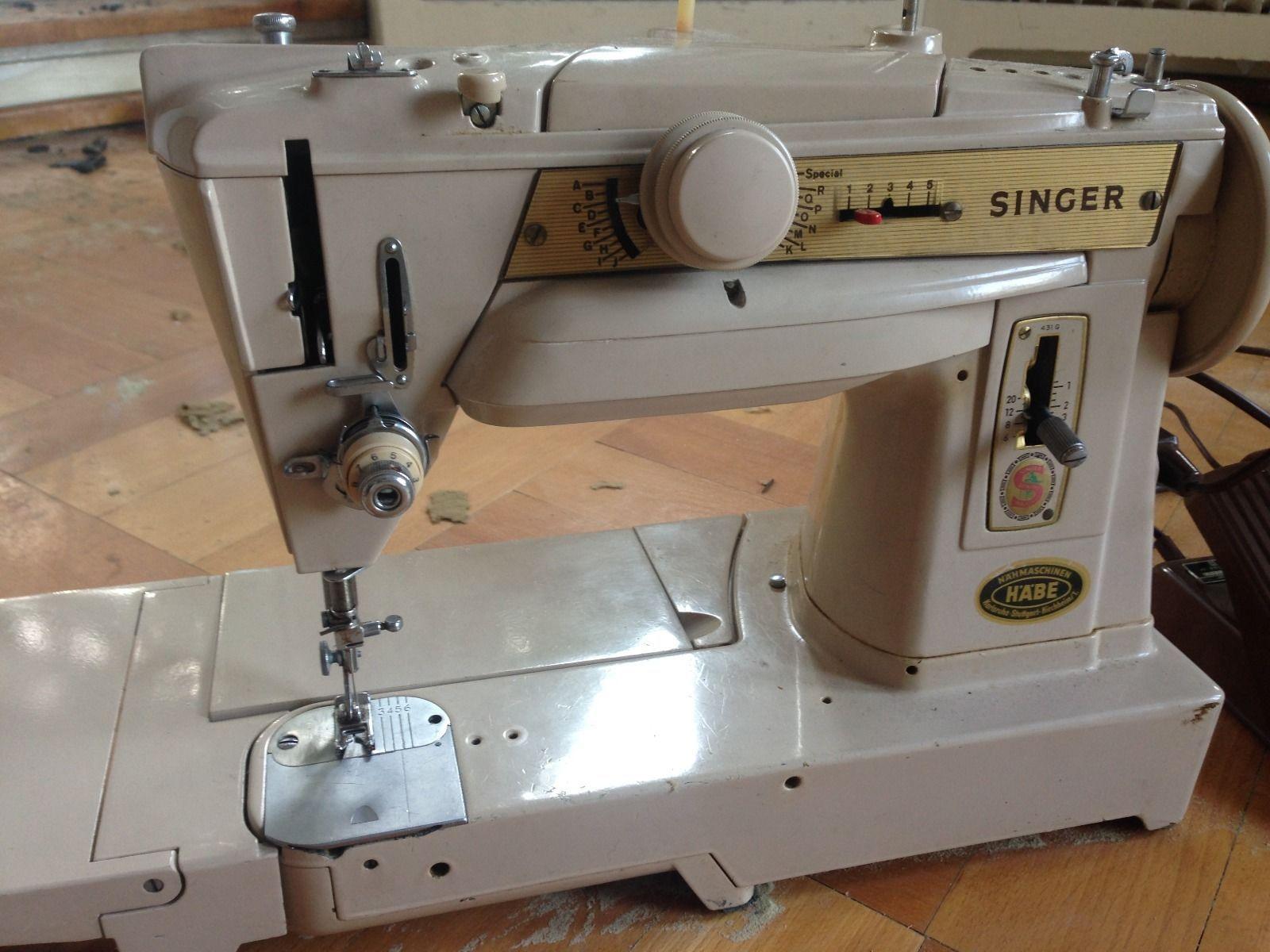 Singer Nähmaschine Modell 431 G | eBay | vintage sewing machine ...