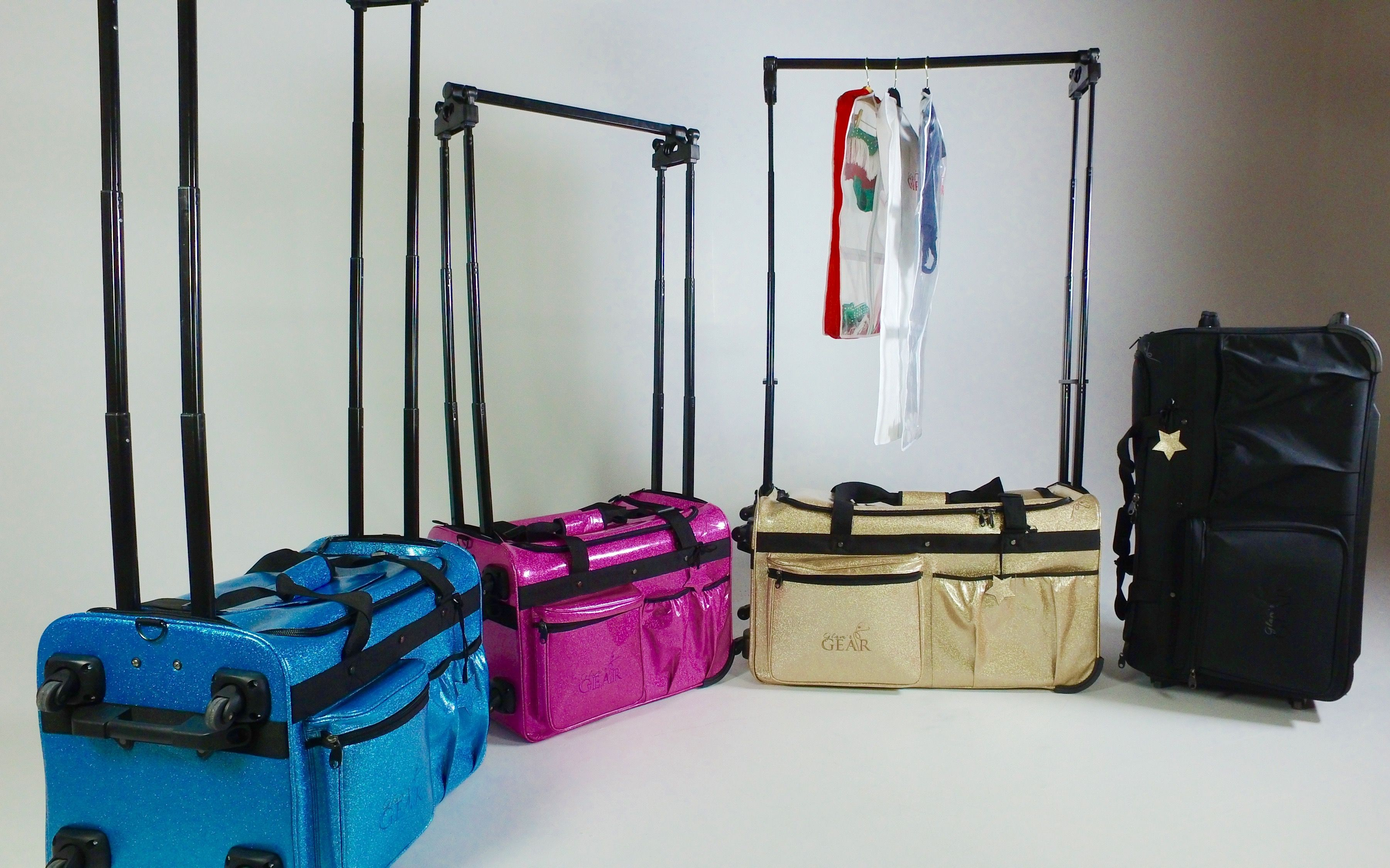 This Rolling Dance Bag May Look Like Others But It S Not Adjule Height Rack Side Extensionuch More Www Allaboutatudedancewear
