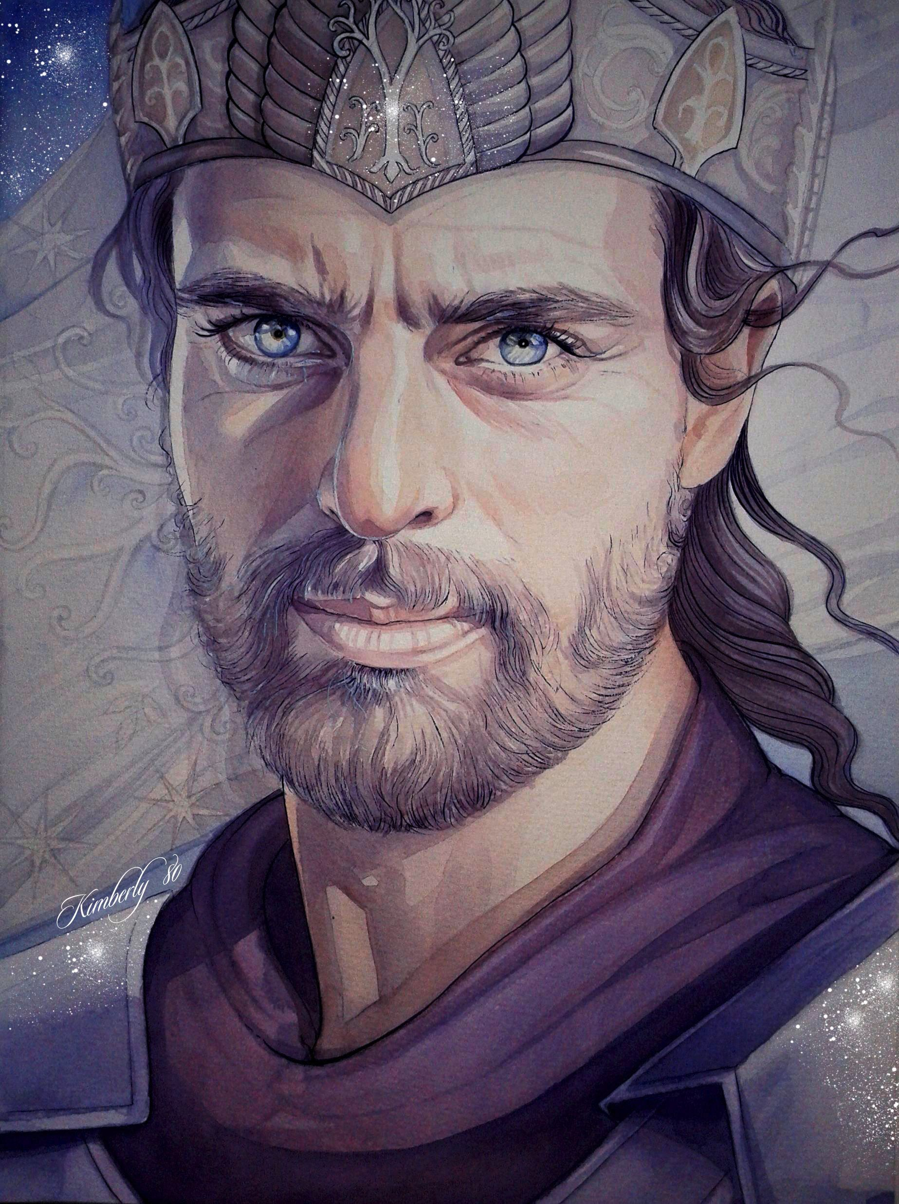 """Elendil - name actually means """"Devoted to the Stars"""" in Quenya ..."""