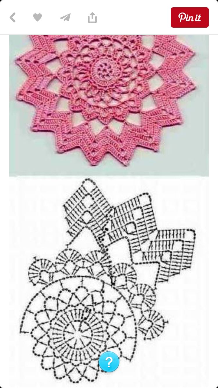 Häkeldeckchen | Artesanía | Pinterest | Ganchillo, Carpeta y Mandalas