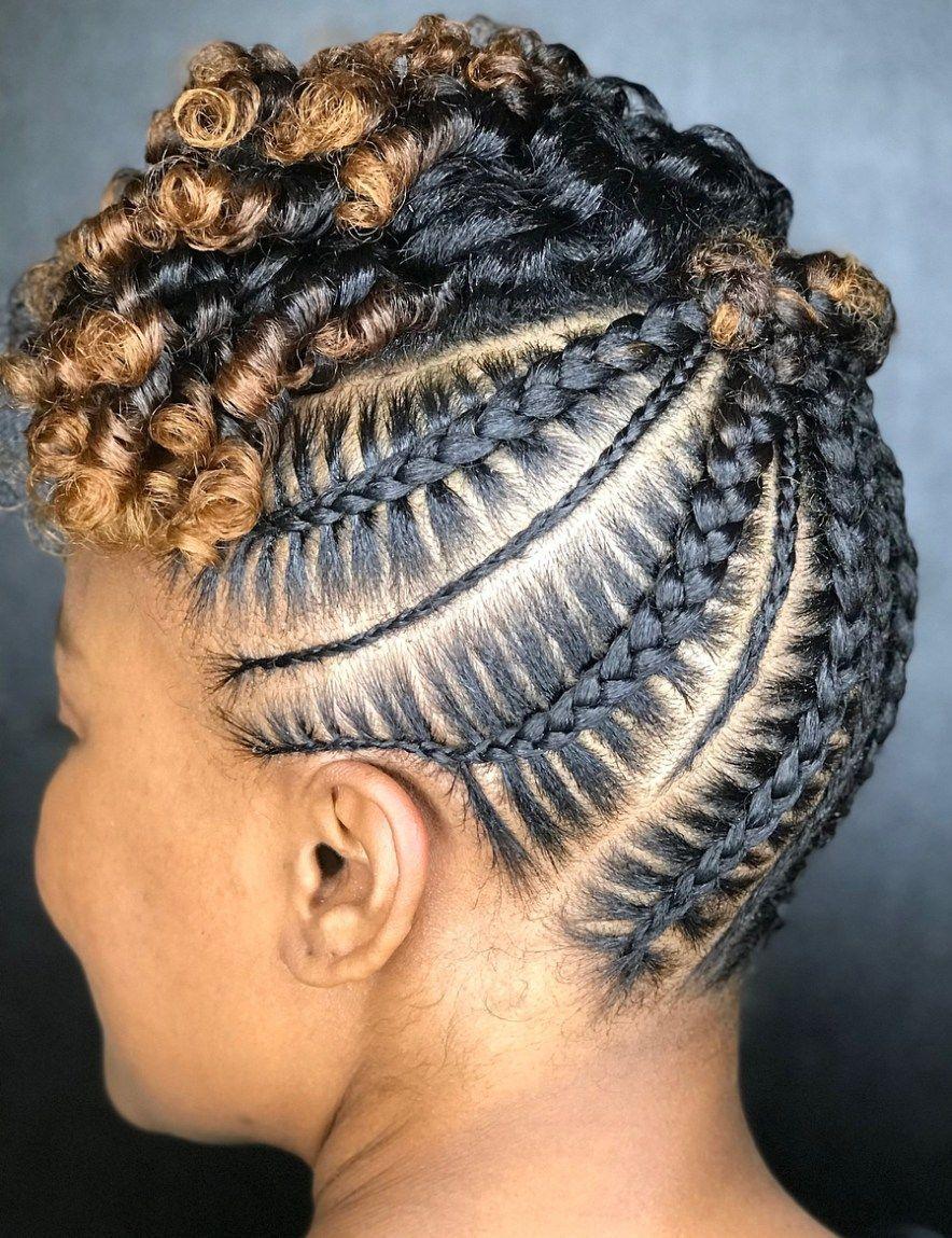 20 Super Hot Cornrow Braid Hairstyles African American Updo