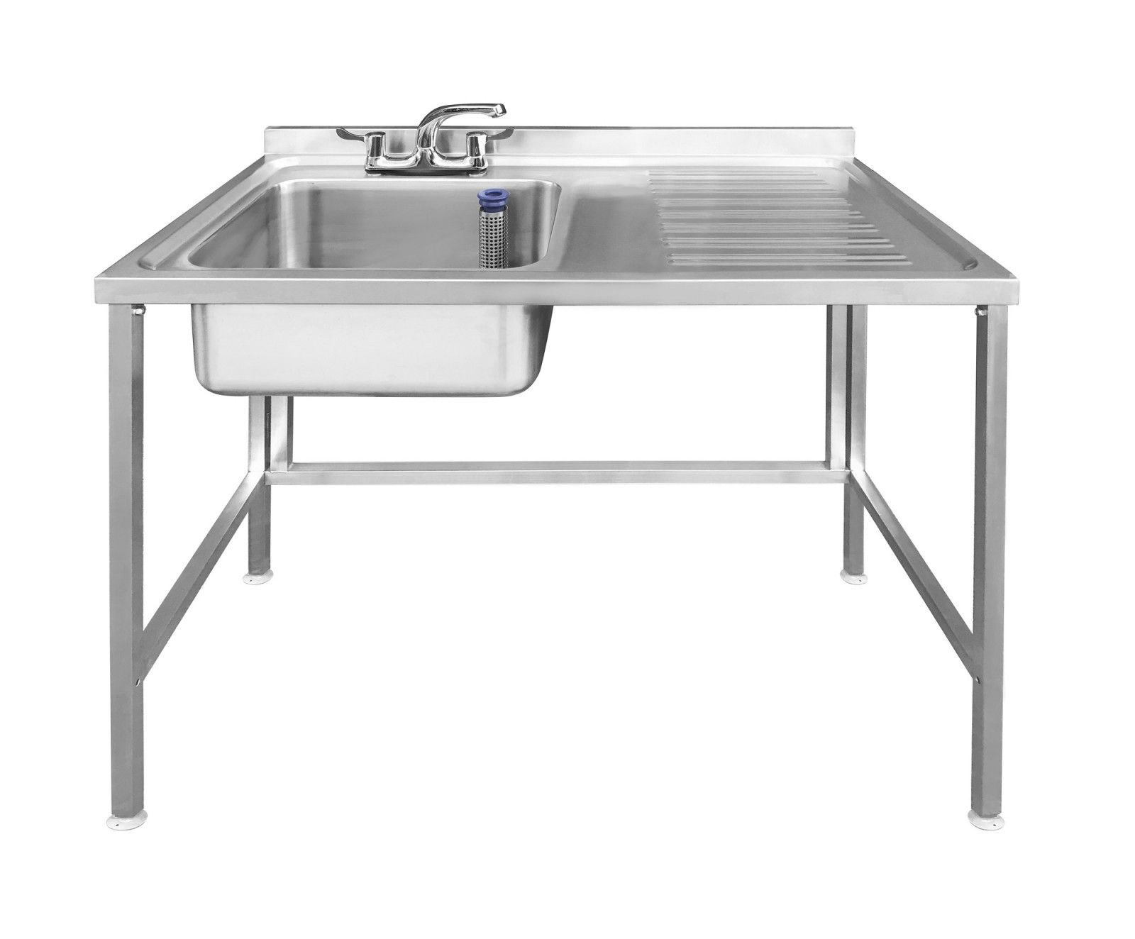 Stainless Steel Sink Right Hand Drainer 1200x600mm With Void