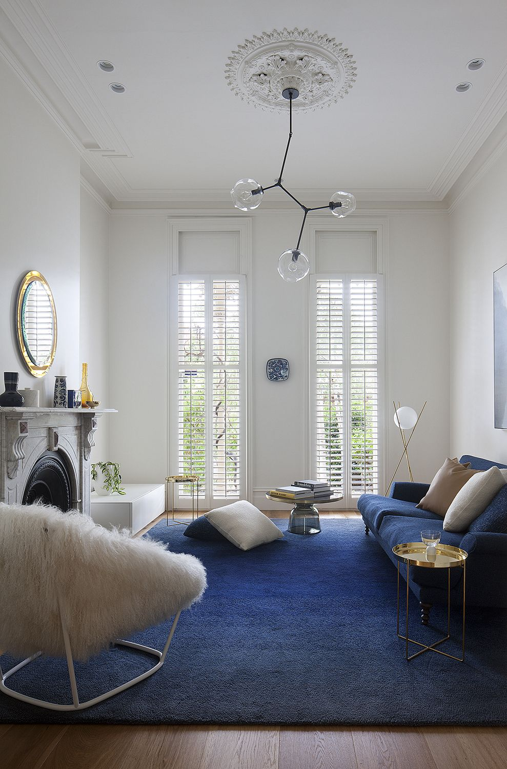 Victorian house colorful interiors for a classy exterior south yarra - South Yarra Terrace House Hecker Guthrie