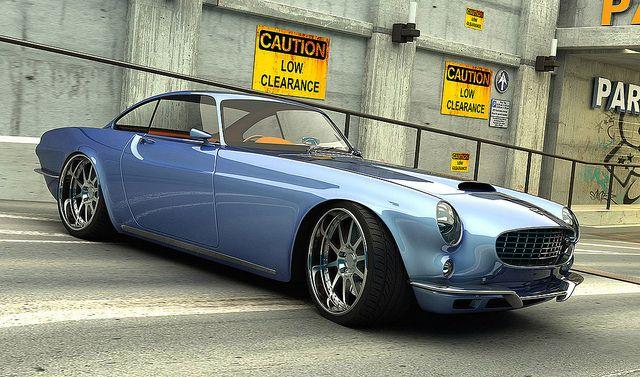 Gorgeous Volvo P1800 Concept