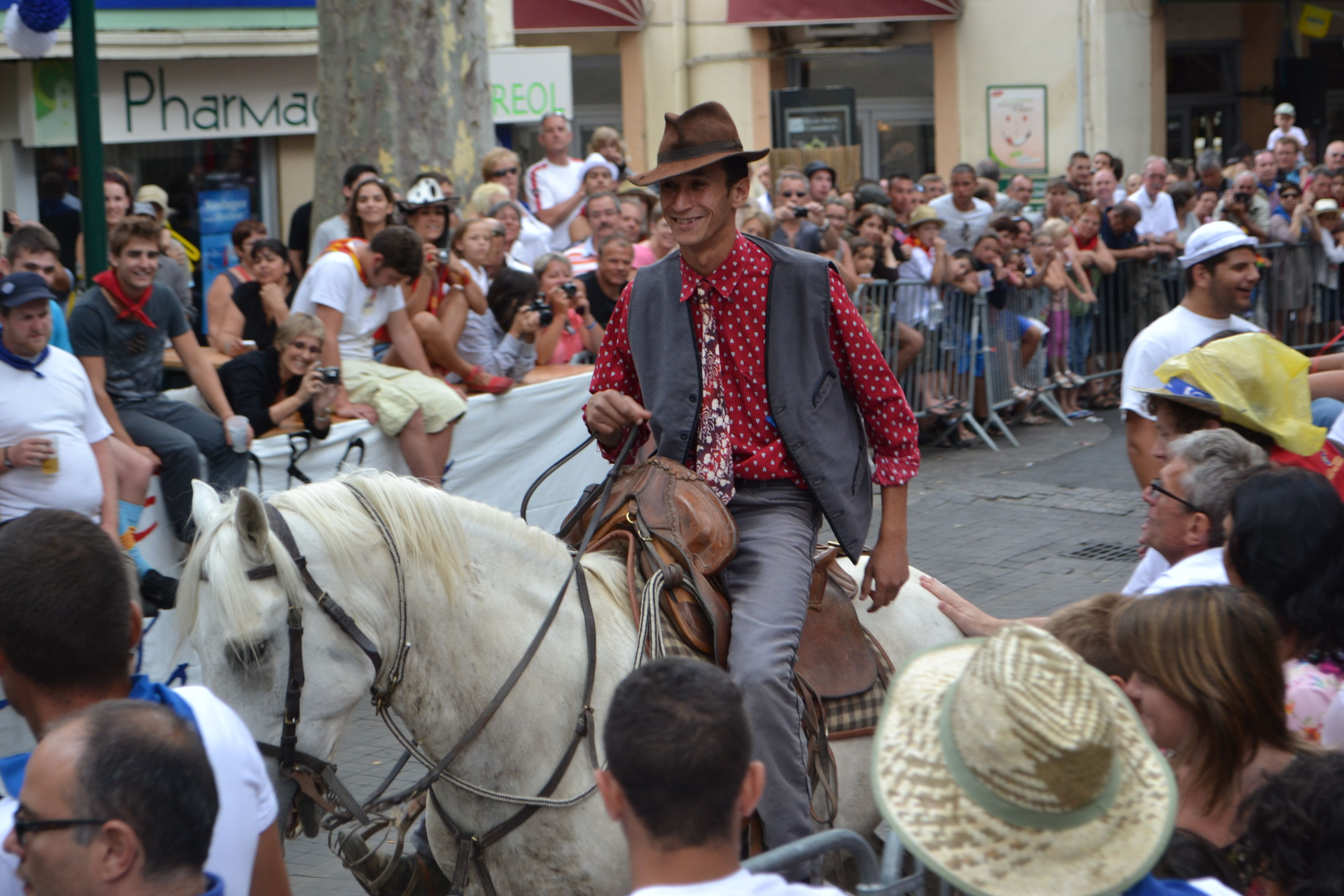 Cous Cous Come Up From The Carmargue For The Feria