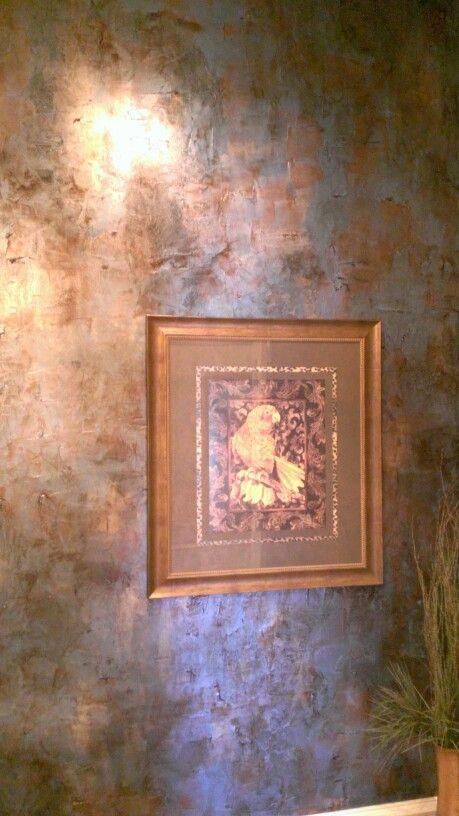 Giovannetti Design Studio - used Kathy Carroll's metallic waxes
