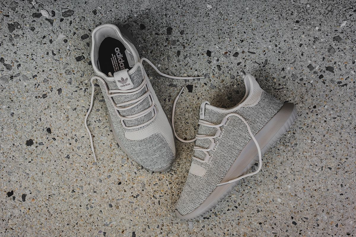 Adidas Tubular Shadow Light Brown Knit Hers trainers Office