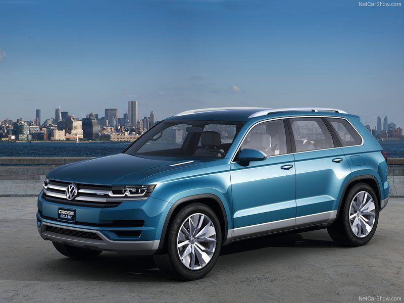 Volkswagen Crossblue Concept 7 Penger Hybrid Suv