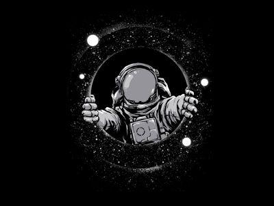 Black Hole Astronaut Art Astronaut Wallpaper Black Hole Cool black astronaut wallpaper