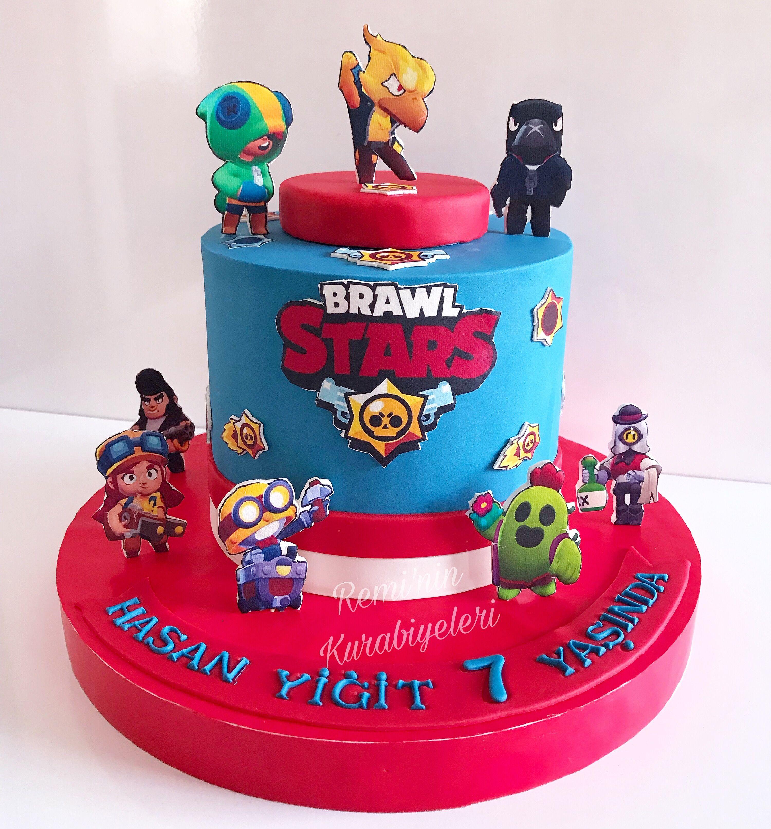 Brawl Stars Cake Temali Pastalar Pastalar Kapkek Tarifleri