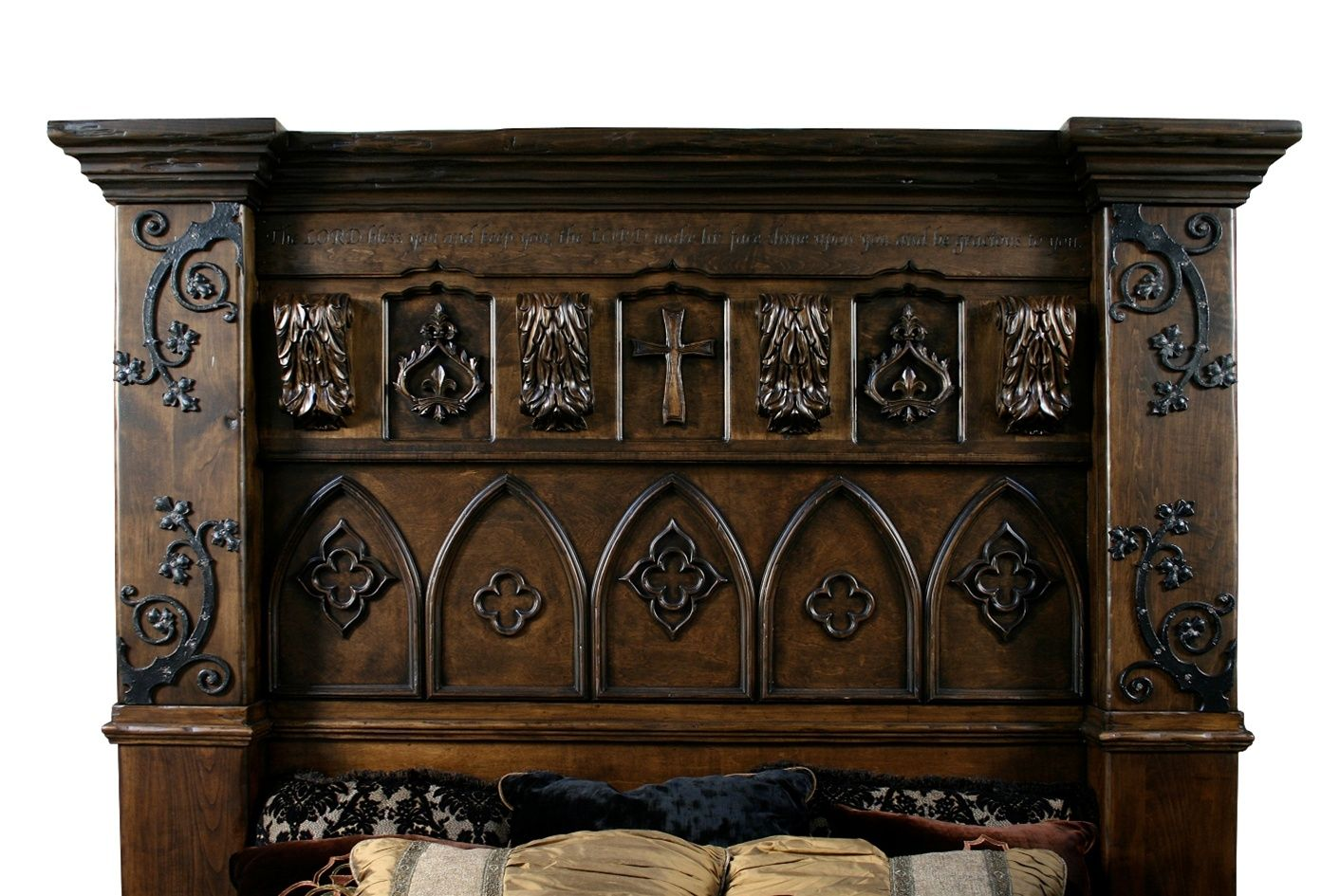 Custom Made Gothic High Style Bed High End Bedroom Set Gothic Bedroom Furniture Bedroom Furniture For Sale Living Room Decor Modern