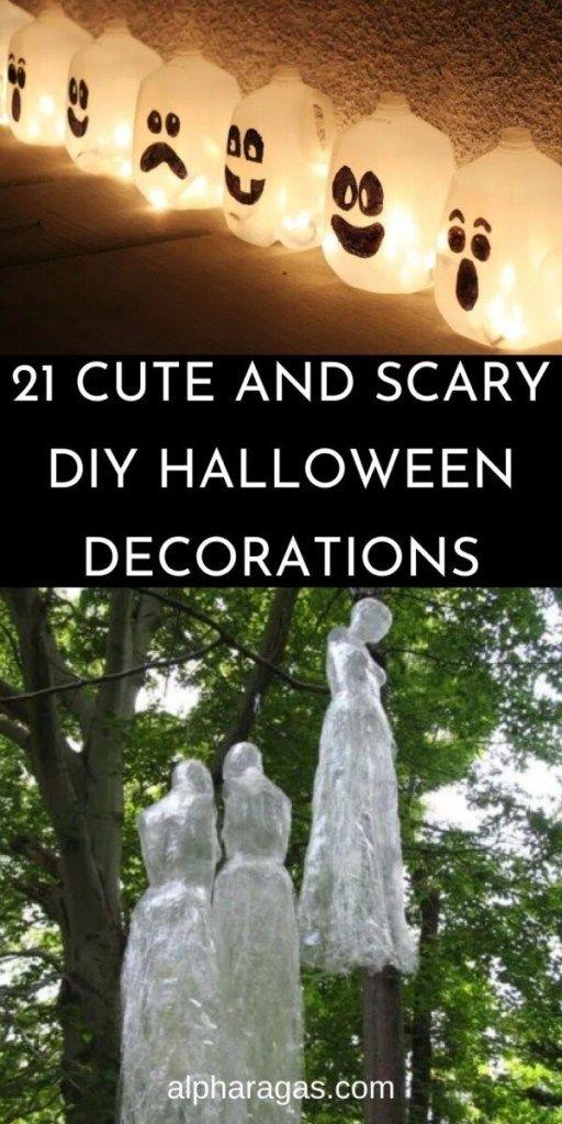 Diy Halloween Decorations 21 Spooky Decorations Alpha Ragas In 2020 Scary Halloween Decorations Diy Halloween Decorations Diy Outdoor Diy Halloween Decorations