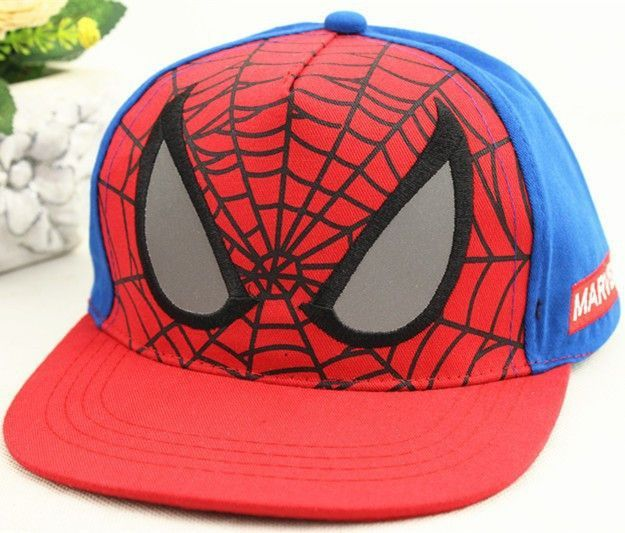 New Fashion Children Cartoon Spiderman Baseball Caps Snapback Adjustable  Children s Sports Hats Fit For 48-53cm 2cf68ecbf159