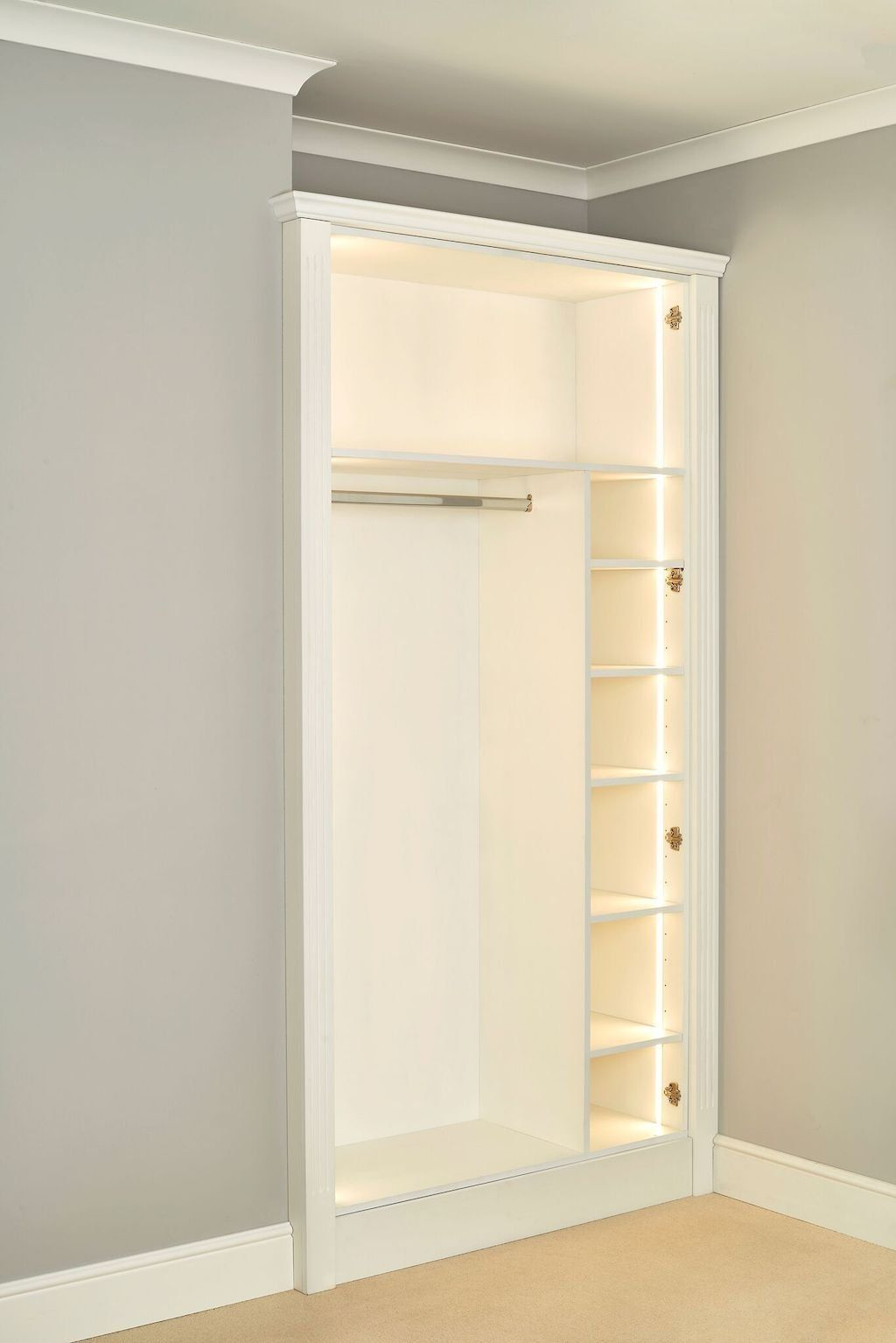 Diy Fitted Wardrobes Save House And Add Type Diy Fitted