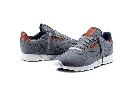 separation shoes 70cfe d6ae3 Reebok Classic leather Salvaged