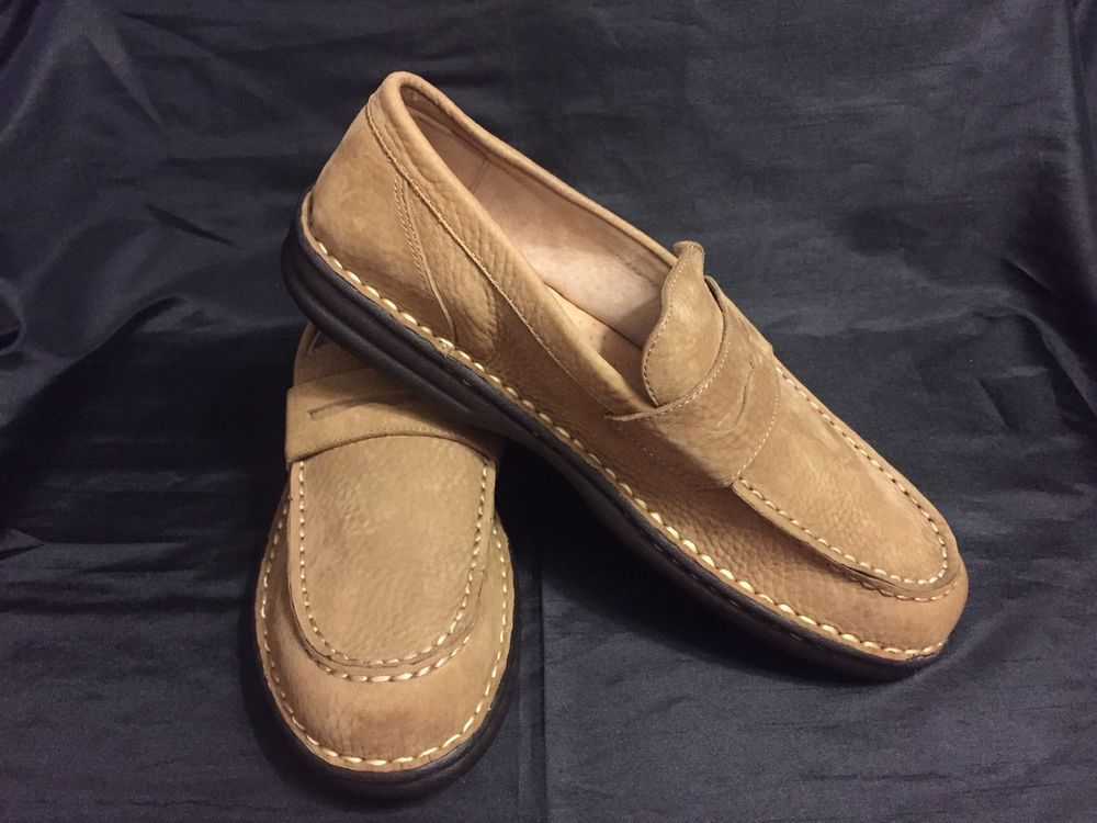100c6a06965 Eddie Bauer Mens Suede 622 Penny Loafers- Size 12  fashion  clothing  shoes
