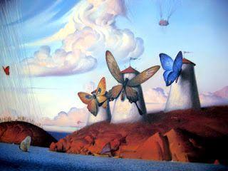 Metaphorical Journey (detail)  Vladimir Kush