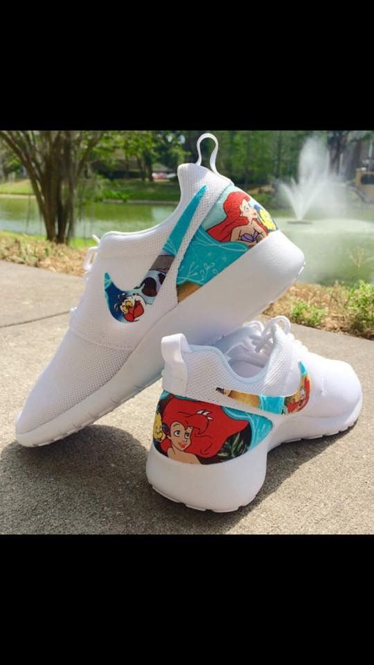3b7993796189 Little mermaid Nikes
