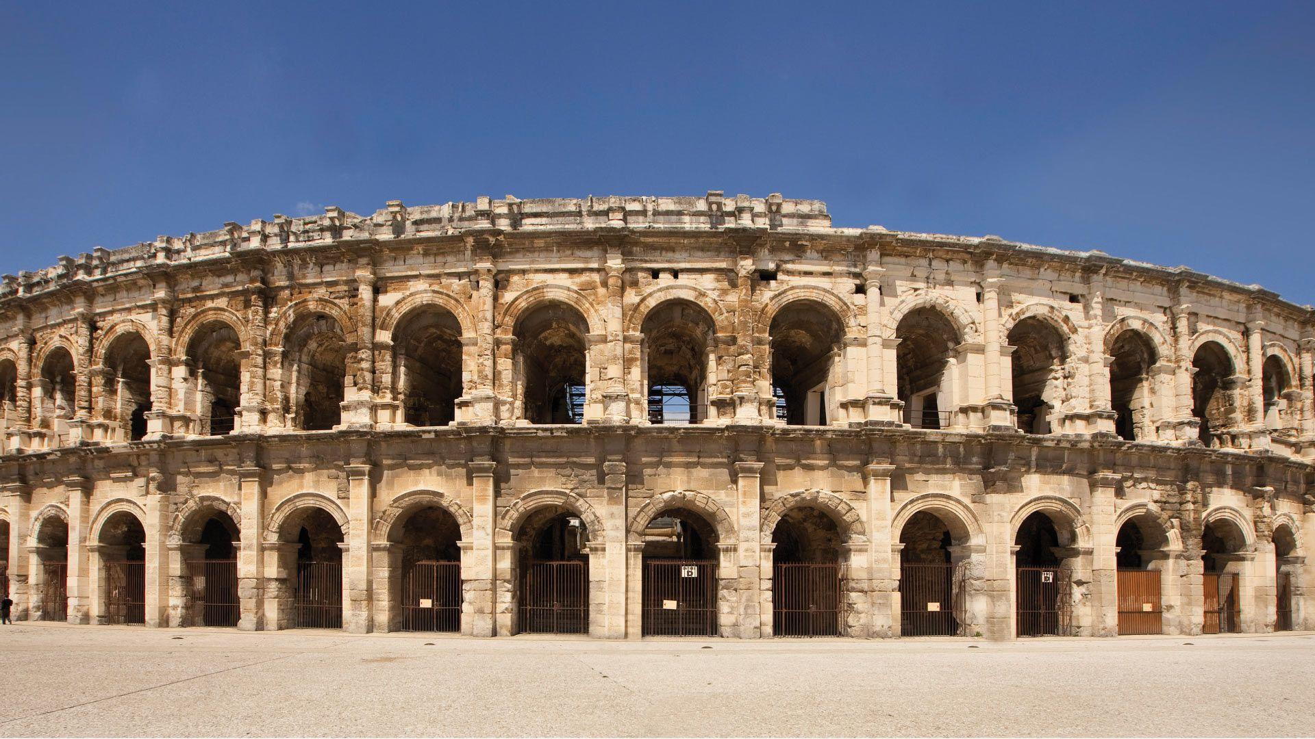 Home Office de Tourisme et des Congrès de Nîmes Arenes