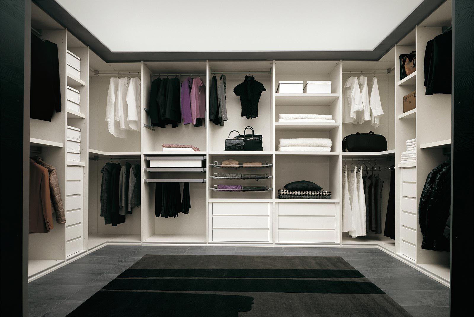 Camere da letto moderne Cabina Armadio - Cenedese | My Home Ideas ...
