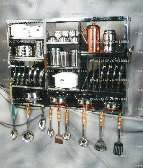 Stainless Steel Kitchen Storage Rack Jpg 500 588 Pixels
