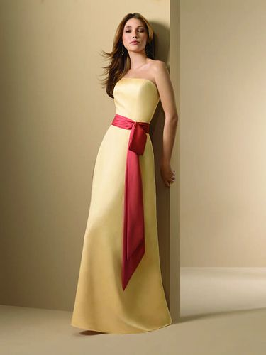 Red And Yellow Will Definitely Be My Colors Love This Bridesmaid Dress