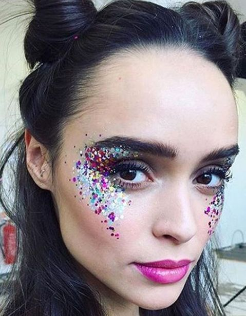 The most beautiful festival makeup