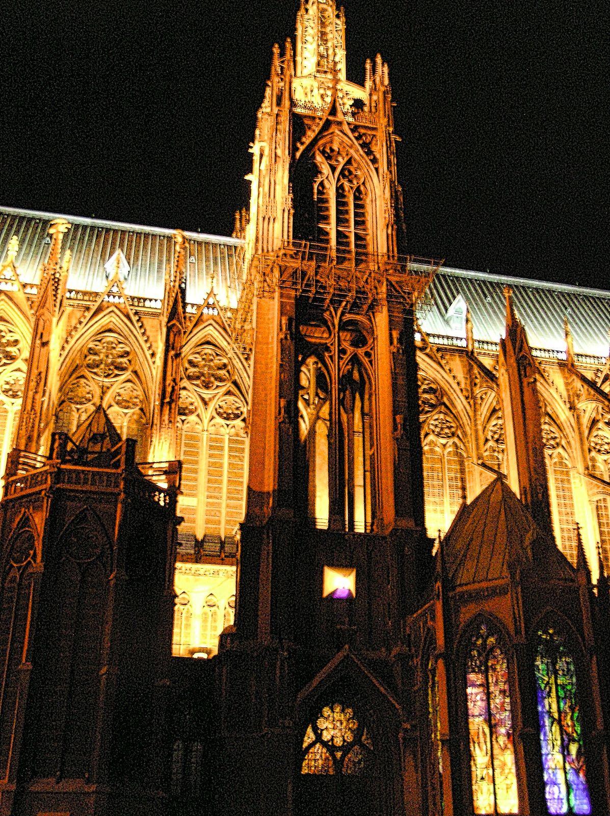 La cathédrale SaintEtienne, Metz, Frankreich Metz
