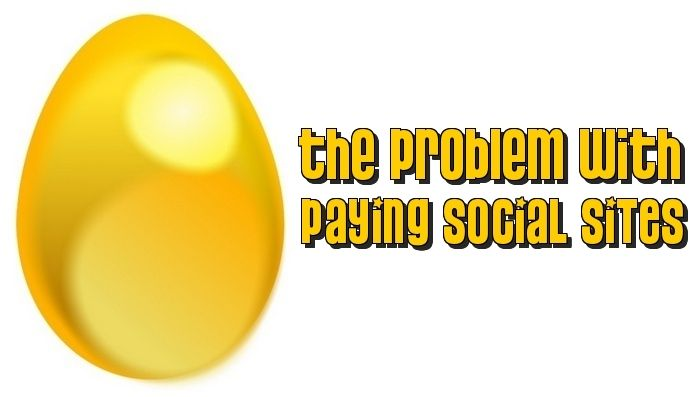 The problem with paying social sites
