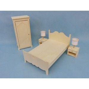 Pack chambre 2P.meuble à monter pour corolle paolareina et little darling