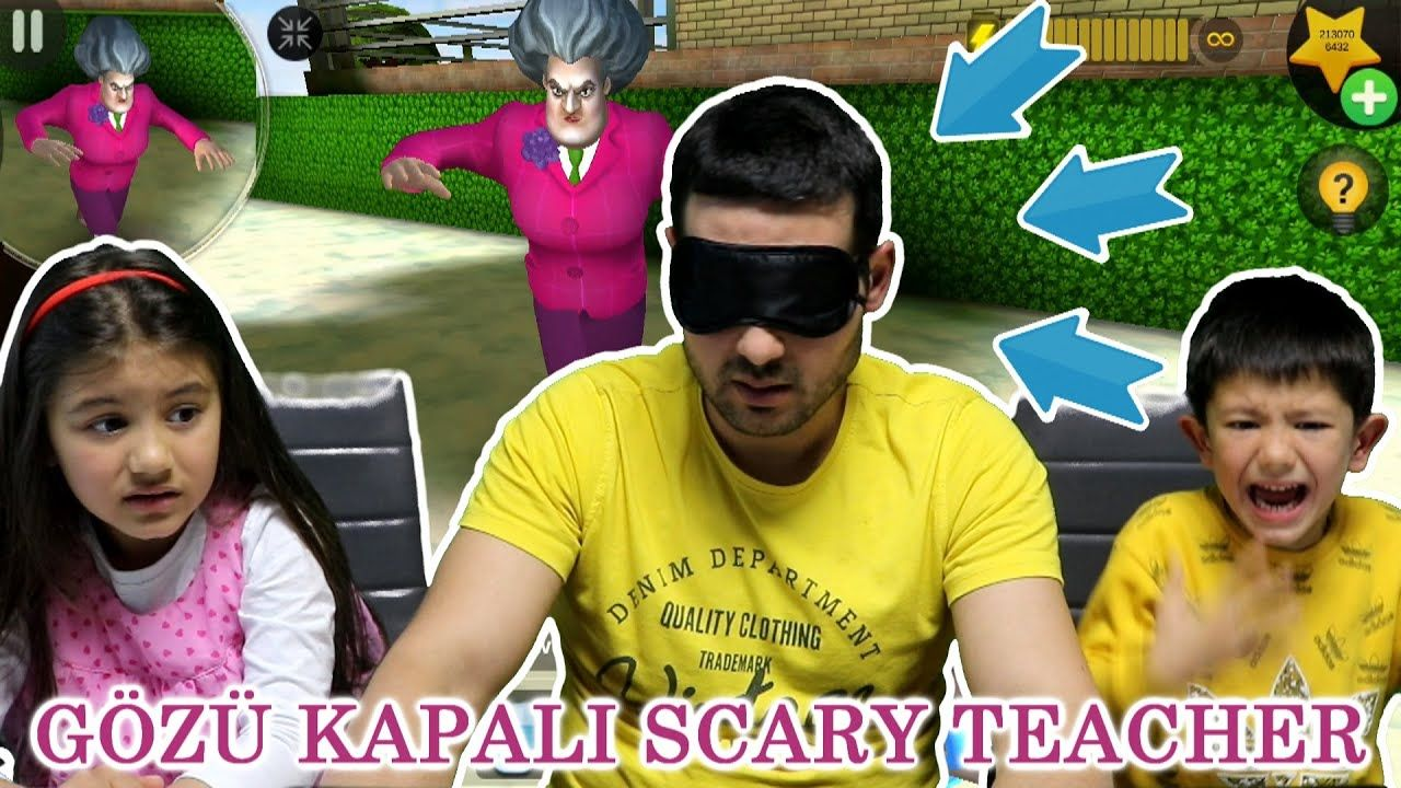 Gozu Kapali Kizgin Deli Ogretmen Scary Teacher 3d Oynuyoruz Sihirli K Ogretmenler Oyun Korse