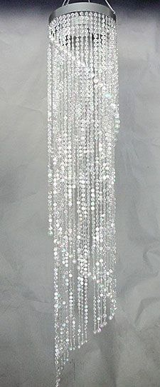 Check out the deal on 48 inch jewel spiral crystal beaded chandelier check out the deal on 48 inch jewel spiral crystal beaded chandelier at battery operated candles aloadofball Gallery