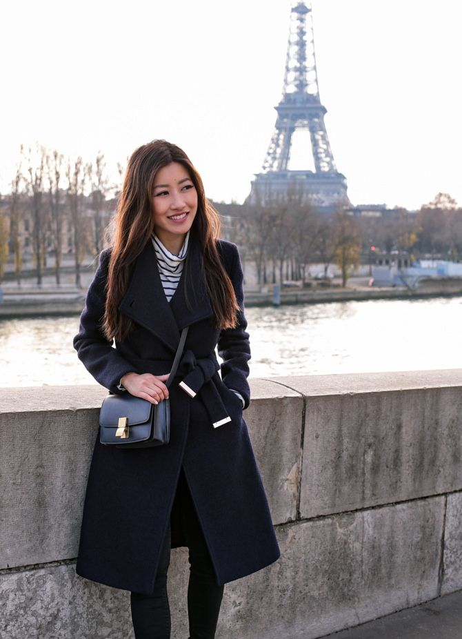 7662c4aef3e Winter in Paris // Ted Baker Wool Coat + Celine Box Bag | Fall into ...