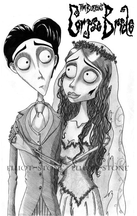 corpse bride coloring pages corpse bride meant to be by