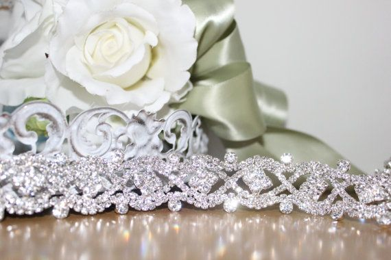 Gorgeous Bridal Rhinestone Wedding Gown Sash Belt by LillyKnots ...