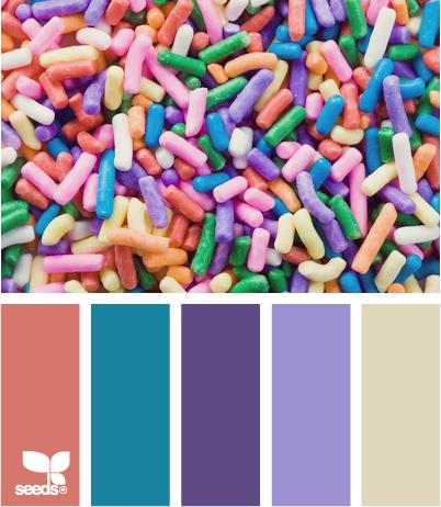 ✮ Sprinkled Color - Fun!