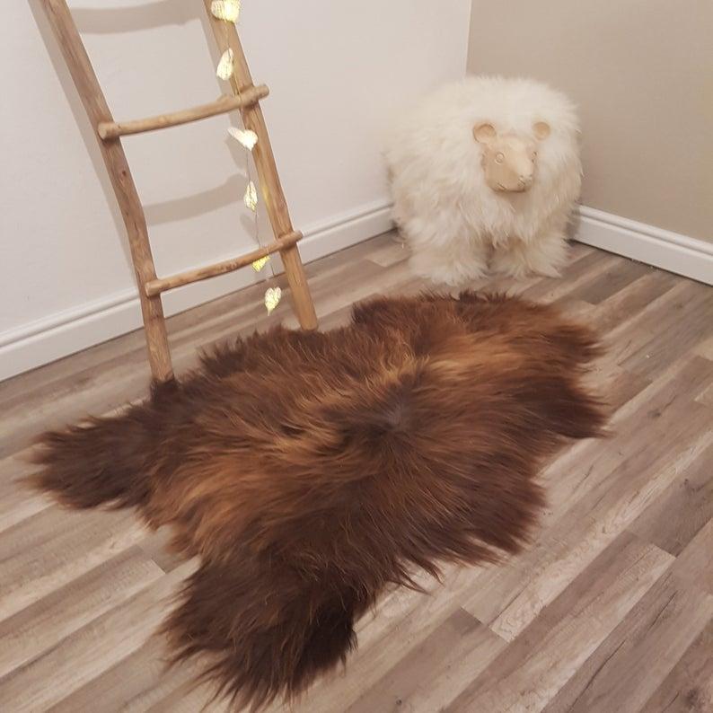 Genuine Sheepskin Rug 100 Sheep Skin Leather Sheep Skin Etsy In 2020 Sheepskin Rug Rugs On Carpet Rugs
