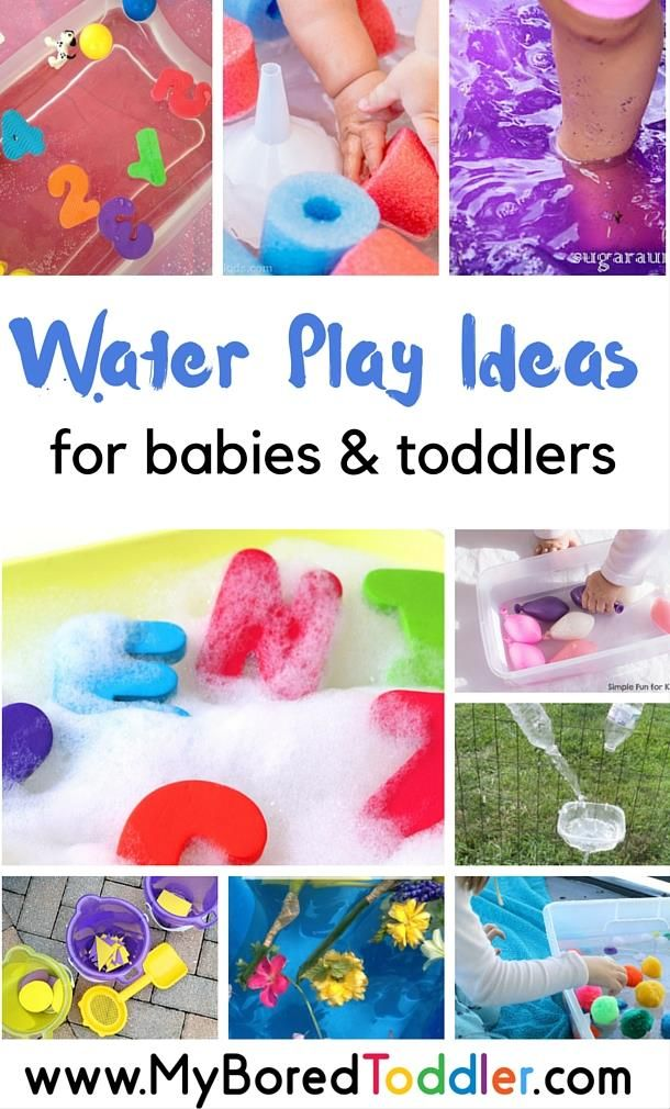 Easy Water Play Ideas For Babies And Toddlers Infant Activities