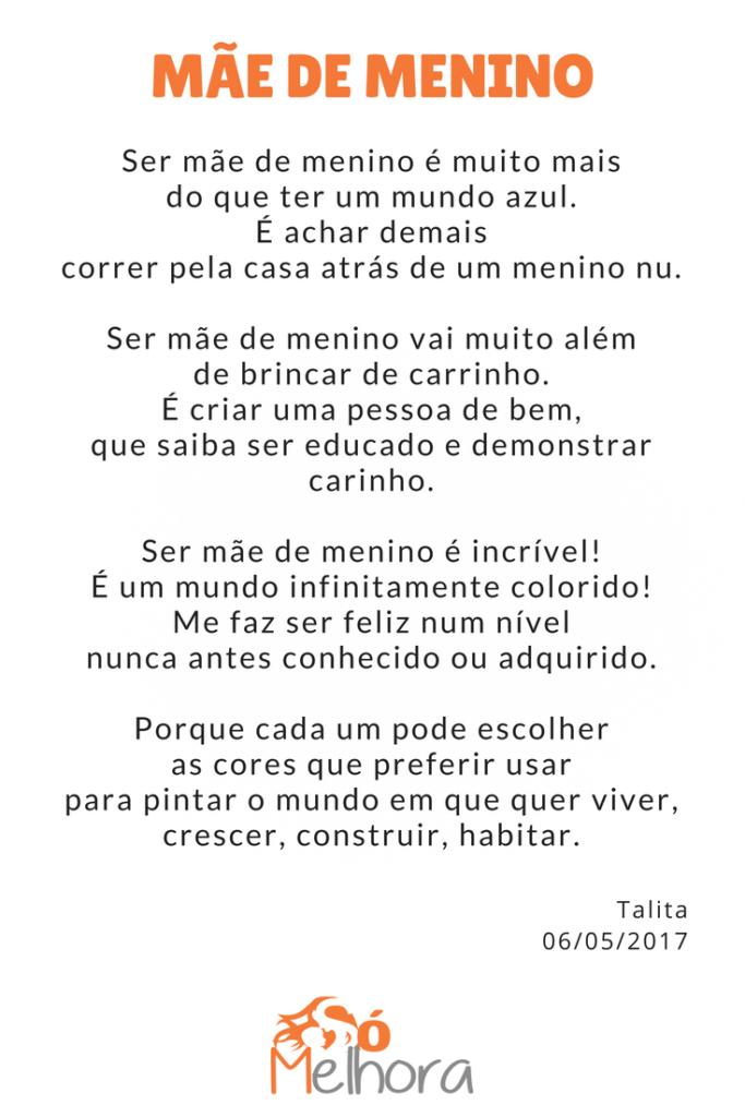 Mãe De Menino Um Mundo Muito Além Do Azul Poesia Frases