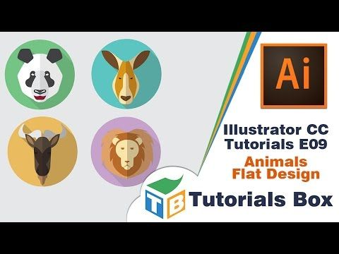 how to create a logo design with professional technique, animal ideas but it's look different with many logo in internet, tutorial adobe illustrator for begg...