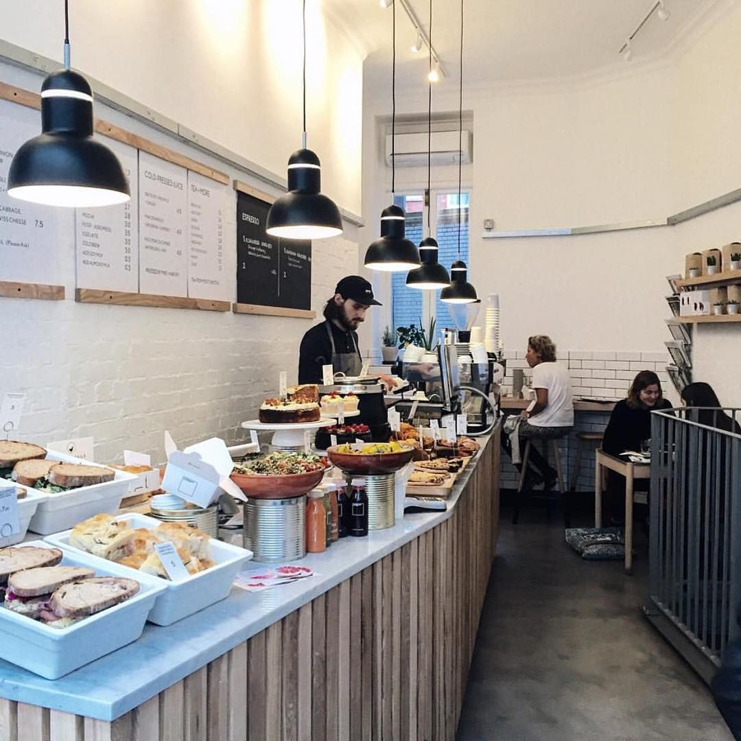 Espresso bar at @lundenwic in Holborn, London
