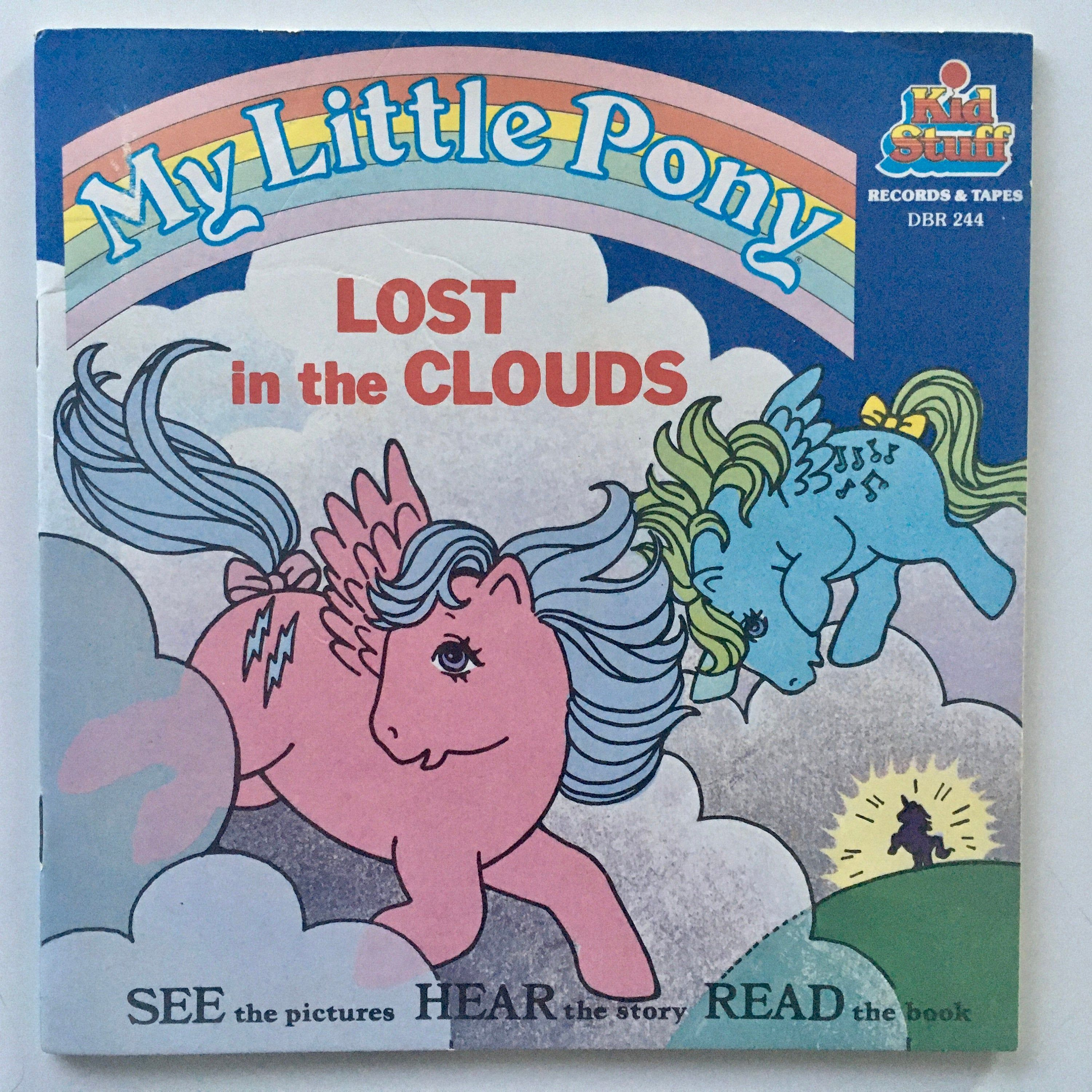 My little pony lost in the clouds 7 vinyl record 24