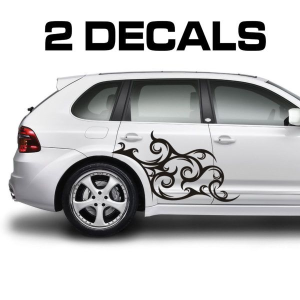 Car Door Decal Stickers