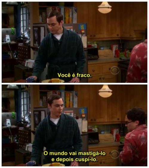 Uma Série De Frases Frases Pinterest Big Bang Theory Fringes