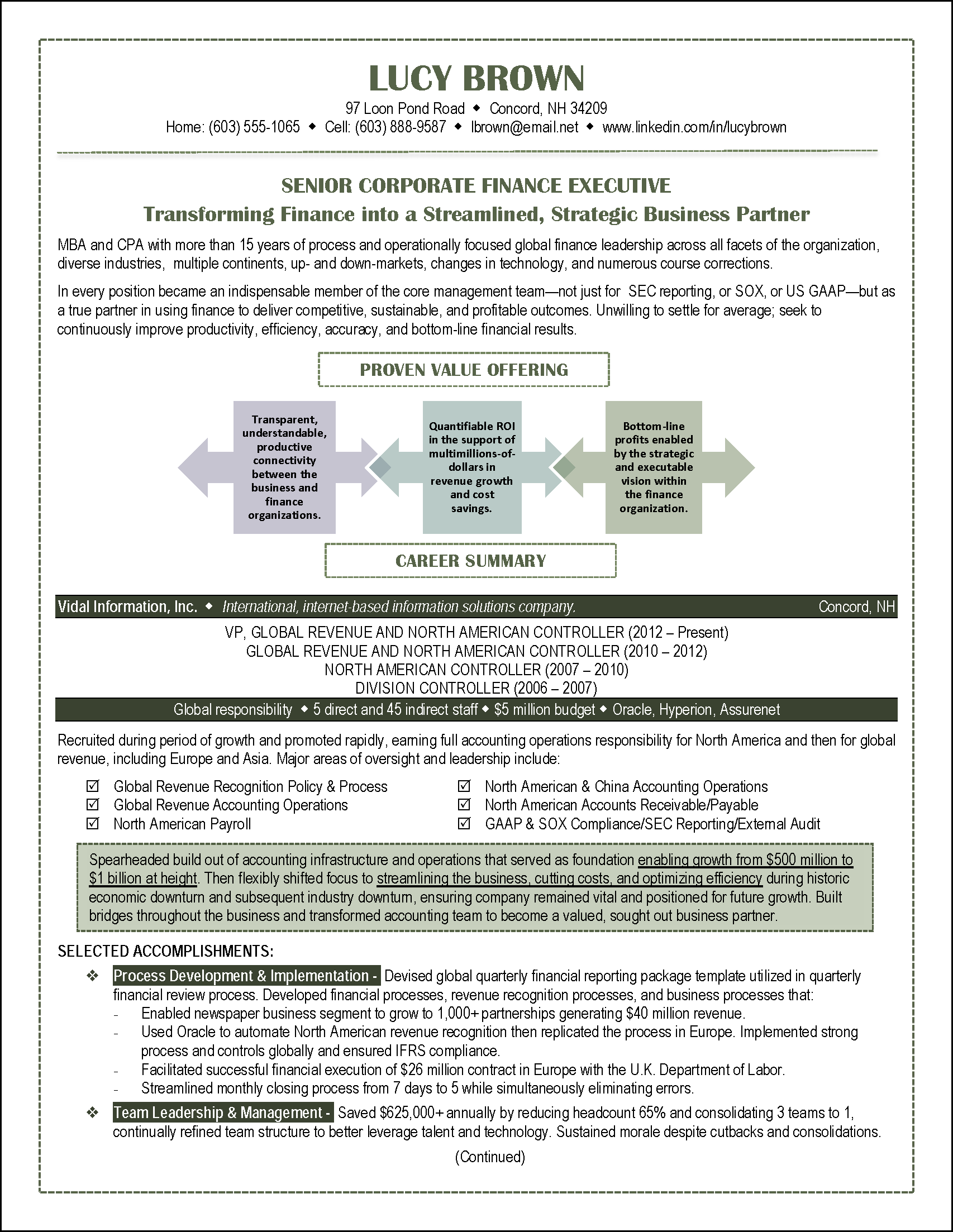Examples Of Career Summary Finance Resume Example  Resume Examples  Pinterest  Resume .