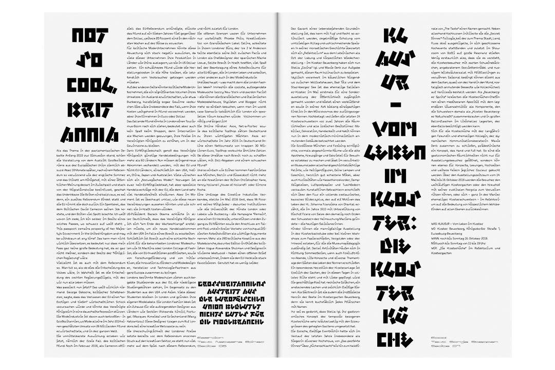 klontur typography exchange ideas synonym