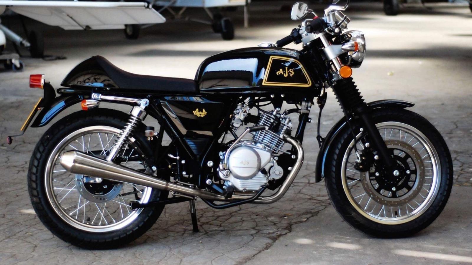 Ajs Cadwell 125 2016 125 Cafe Racer Cafe Racer Cafe Racer Motorcycle