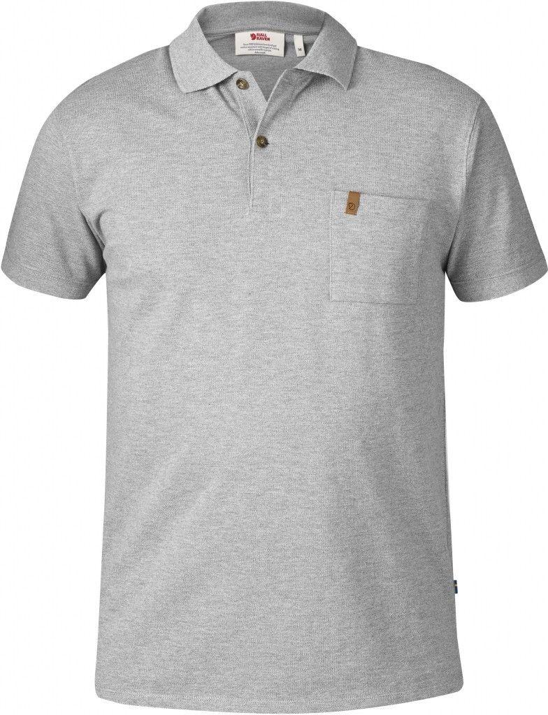 Skjorte til herre Fjällräven Logo Tee M 2XL UncleBlue
