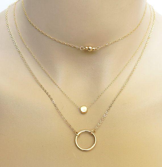 thin choker simple gold choker necklace chain choker